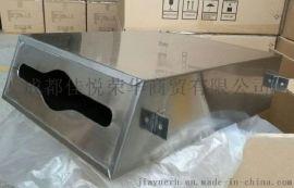 304不鏽鋼隱藏式鏡後抽紙箱廠家批發