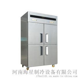 新乡鹤壁商用冰箱哪个牌子好 饭店食堂厨房四六门冰柜