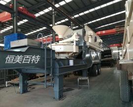 新型移动制砂机 移动式制砂机快速报价