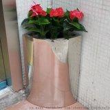 不鏽鋼花盆 邊角花盆
