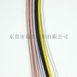 加工电线编织数据线 涤纶编织数据线 电线编网加工