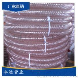 北京扫地车吸尘管PU钢丝增强软管