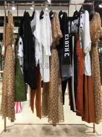 东莞时尚潮牌女装 布卡品牌折扣女装一手货源走份供应