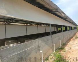 四川养殖场窗帘布 猪场窗帘布安装方法