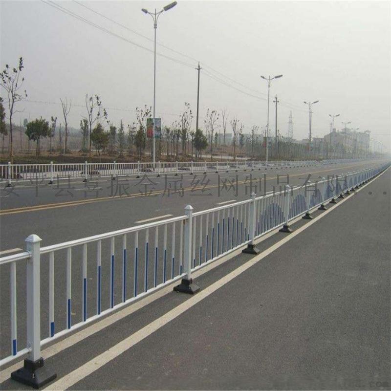 交通道路分隔护栏@现货市政护栏@纵向分隔市政护栏
