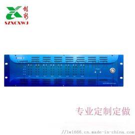 19英寸视频光端机机箱 18槽光端机机架 3U 光纤收发器机架 插卡式