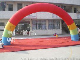广州厂家直销开业庆典专用新款8米充气广告拱门