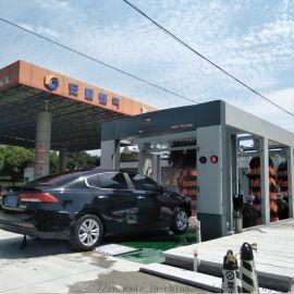 适合洗车店PLC控制操作设备全自动洗车机