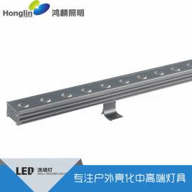 超薄无缝对接LED洗墙灯18W24W线形洗墙灯