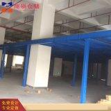 企业钢平台制作 加工生产钢结构货架