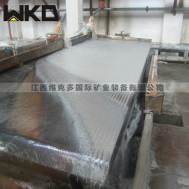 凉山销售6S选矿摇床 沙金提纯重力选矿设备厂家
