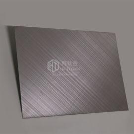 不锈钢手工交叉拉丝装饰板 304电梯装潢交叉拉丝板