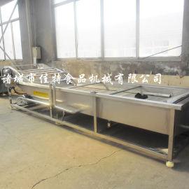 四段式全自动柑橘清洗机,河南柑橘清洗生产线