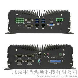 北京特价4路RS485嵌入式I5/I7无风扇工控机