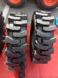 铲车半实心钢丝充气轮胎825-16加厚矿山专用轮胎
