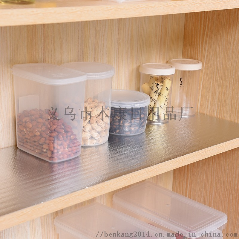 日式铝膜防潮垫橱柜垫 防油厨房垫 冰箱抽屉垫