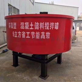 大型砂浆二次储料罐 混凝土储料搅拌罐 搅拌质量好