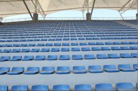廠家直銷場館座椅 體育館座椅 高靠背直立式中空塑料椅