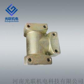 矿用三通异径三通Y三通KJ3 综采液压管件阀