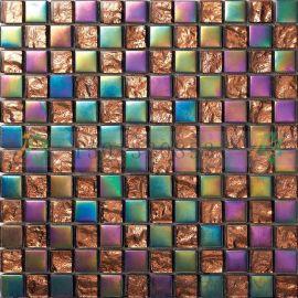 广西百色欧式现代具有口碑的绚丽水晶玻璃马赛克瓷砖批发佛山生产厂家直销