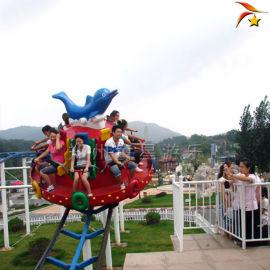 游乐场设备冲浪旋艇室外儿童新型游乐设备