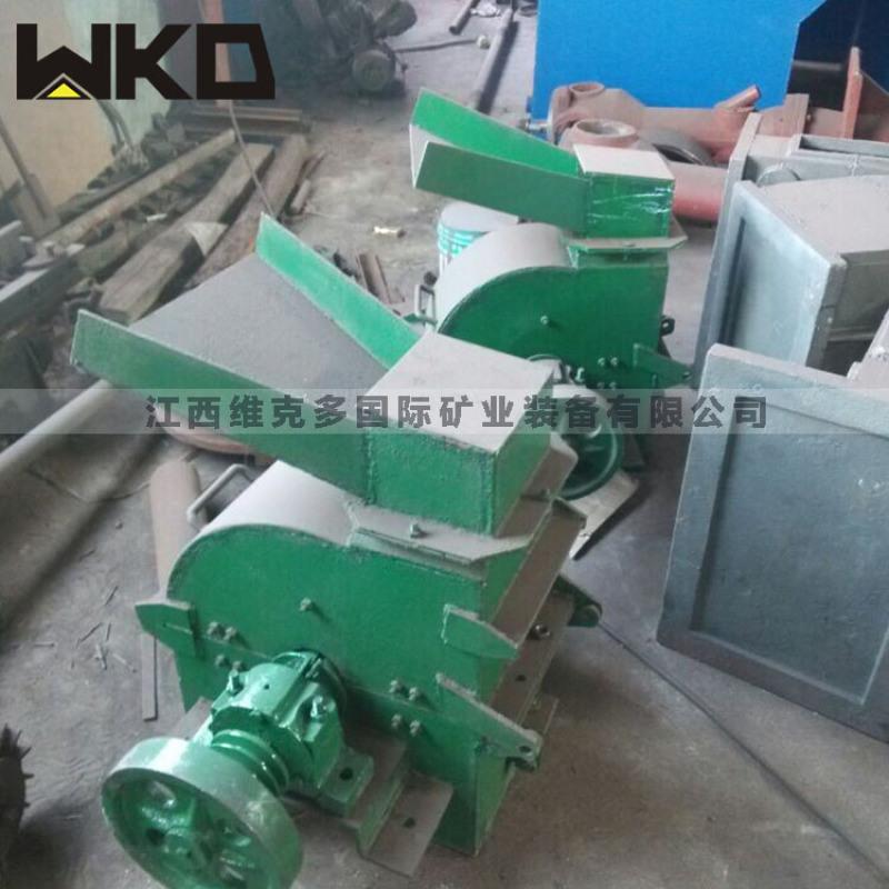 高产量锤式破碎机厂家 小型轴式锤式破碎机型号