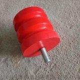起重机防撞缓冲装置 / 聚氨酯红色防撞块