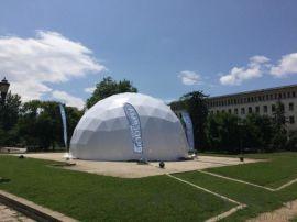 内蒙古铝合金篷房 户外球形星空帐篷直销卡帕公司直供