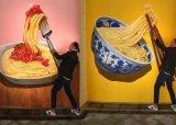 上海牆繪健身器材牆體彩繪手繪健身館壁畫牆畫
