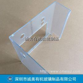 抗静电有机玻璃设备罩壳 防静电亚克力机械罩 机罩