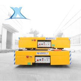 厂家定制 大容量铅酸蓄电池无轨转运车运输钢材电动无轨道平车