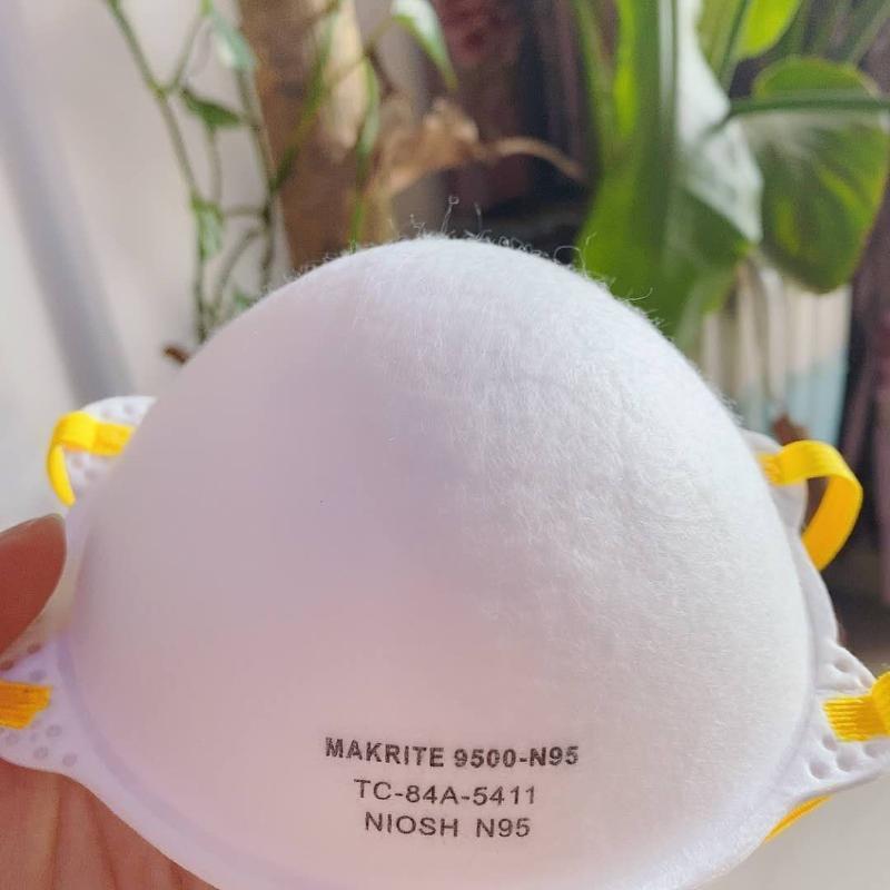 口罩9500杯型口罩 头戴式折叠口罩