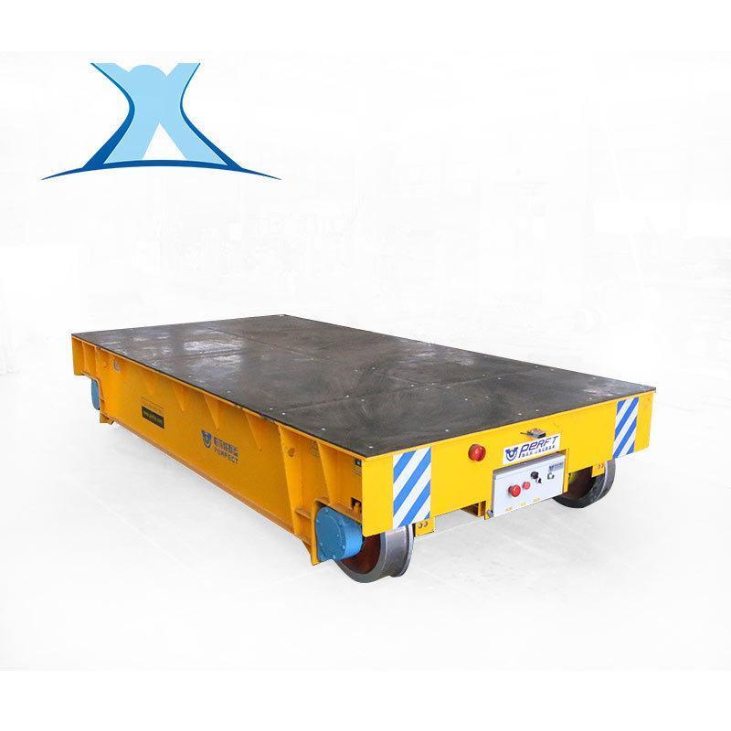搬运汽车零部件电动轨道过跨车可定制遥控电动蓄电池轨道平车