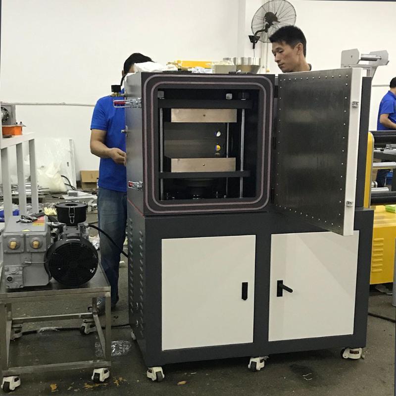 四柱平板壓片機、抽真空電動加硫成型機