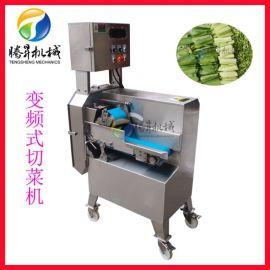 不锈钢自动切菜机 变频调速切菜机 双变频切蔬菜机