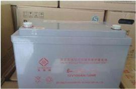 太阳神6-GFM-100 12V100AH 直流屏UPS/EPS电源 铅酸免维护蓄电池