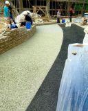 生態透水砼地坪彩色混凝土藝術地坪專用材料厚度3+10