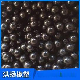 耐磨高弹实心橡胶球 振动筛专用橡胶球