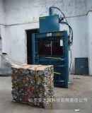 立式油漆桶打包机 自动穿绳秸秆打包机 废纸箱打包机