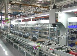 广州电动机装配线生产线,电机老化线,马达滚筒线