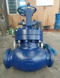 美标对焊高压截止阀WC6材质压力600LB