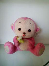毛绒玩具加工定制 毛绒玩具猴子