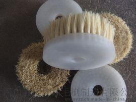 机械抛光尼龙丝圆盘刷 磨料丝圆盘毛刷