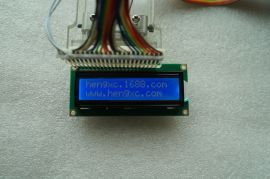 厂家直销LCD1602(蓝屏) 5V 1602液晶显示屏 带背光