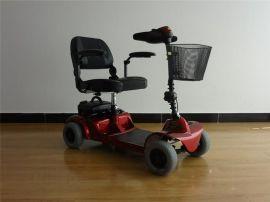台湾美利驰S5491轻便折叠电动代步车轮椅进口配置带防盗功能