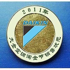 吉林供应徽章生产厂家 找鑫创业达制作金属烤漆徽章**
