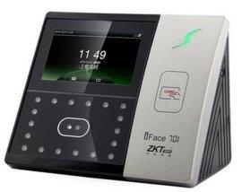 中控iFace701 人脸识别考勤机电容屏 刷卡考勤