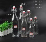 熱銷廚房酵素玻璃瓶密封罐果汁瓶透明儲物瓶宜家泡酒瓶製品器皿