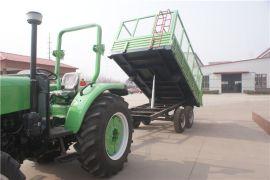 高栏农用自卸拖车,双轴转盘转向,厂家定做