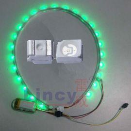 3528绿光贴片灯珠led